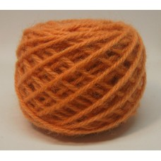 PUMPKIN  #60 Wool rug yarn Orange