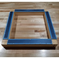 WOODEN FRAME with Gripper Strip for rug hooking / punch needle